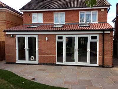 Home extension in Nottingham