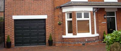 A garage conversion in Bingham, Nottingham